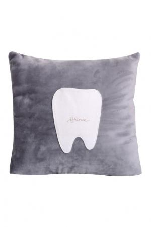 Подушка Tooth Fairy Moonsters. Цвет: серый