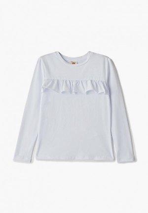 Блуза Button Blue. Цвет: белый