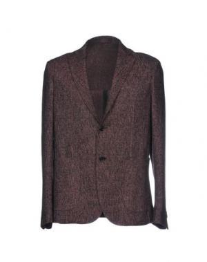 Пиджак HARRY & SONS. Цвет: красно-коричневый