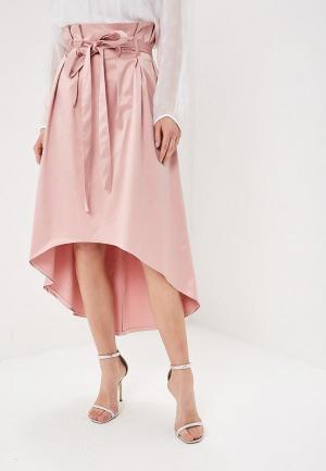 Юбка Almatrichi. Цвет: розовый