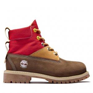 Ботинки 6 Inch L/F WP Boot Timberland. Цвет: коричневый