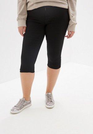 Шорты джинсовые Junarose. Цвет: черный