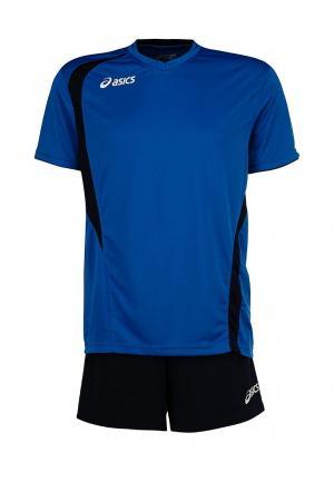 Форма волейбольная ASICS SET END. Цвет: голубой