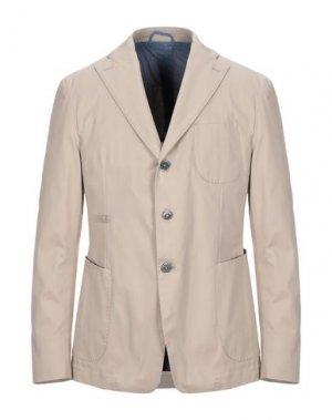 Пиджак JOHN SHEEP. Цвет: бежевый
