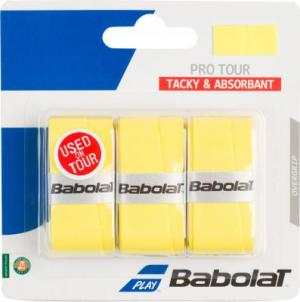 Намотка Pro Tour Babolat. Цвет: желтый