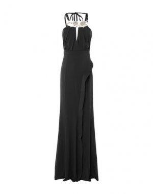 Длинное платье MARIA GRAZIA SEVERI. Цвет: черный