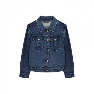 Джинсовая куртка I dig denim. Цвет: синий