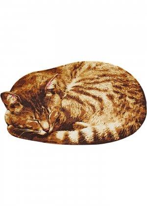 Придверный коврик Рыжий кот bonprix. Цвет: корич-невый
