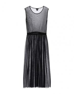 Платье длиной 3/4 AVANT TOI. Цвет: темно-синий