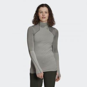 Лонгслив Knit TERREX adidas. Цвет: серый