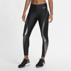 Женские слегка укороченные тайтсы для бега Icon Clash Speed Nike