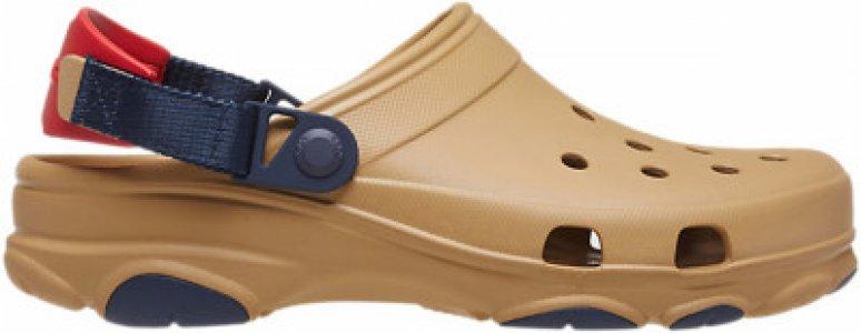 Шлепанцы Classic All Terrain Clog, размер 41-42 Crocs. Цвет: коричневый