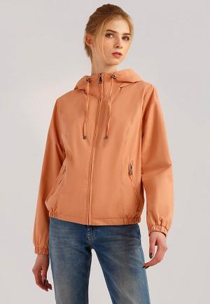 Ветровка Finn Flare. Цвет: оранжевый
