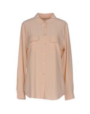 Pубашка EQUIPMENT. Цвет: пудровый