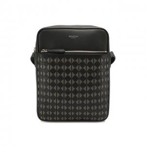Кожаная сумка Mosaico Serapian. Цвет: чёрный