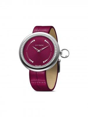 Наручные часы Kalysta Sparkling Tale 39 мм Jorg Hysek. Цвет: фиолетовый