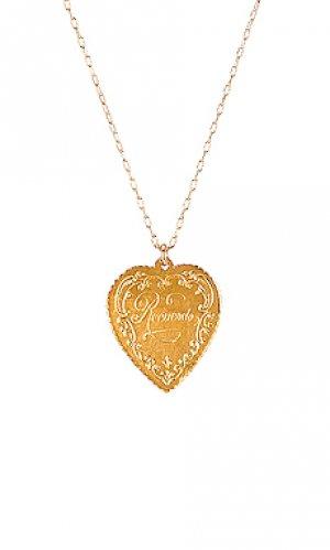 Кулон recuerdo Natalie B Jewelry. Цвет: металлический золотой