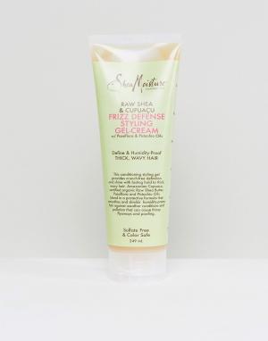 Гель-крем для укладки волос с маслом ши и купуасу Frizz Defense-Бесцветный Shea Moisture