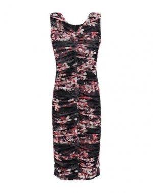 Платье до колена BLACK HALO. Цвет: черный