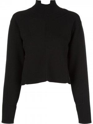 Укороченный пуловер Proenza Schouler. Цвет: черный