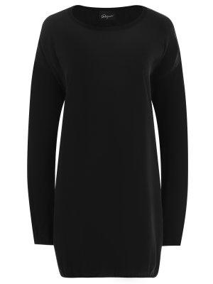 Платье повседневное ROQUE. Цвет: черный