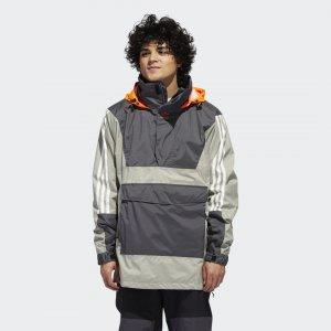 Анорак 10К Originals adidas. Цвет: оранжевый