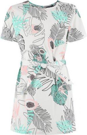 Платье для девочек , размер 170 Termit. Цвет: белый