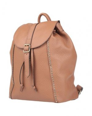Рюкзаки и сумки на пояс CAMPOMAGGI. Цвет: желто-коричневый