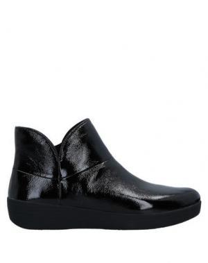 Полусапоги и высокие ботинки FITFLOP. Цвет: черный