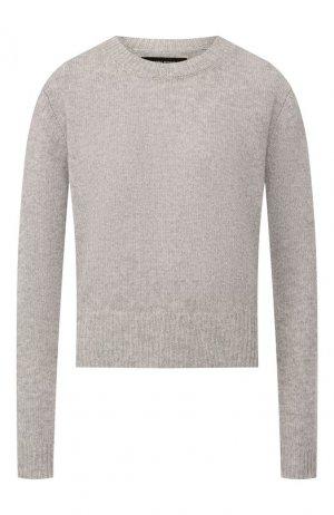 Кашемировый пуловер Isabel Marant. Цвет: серый