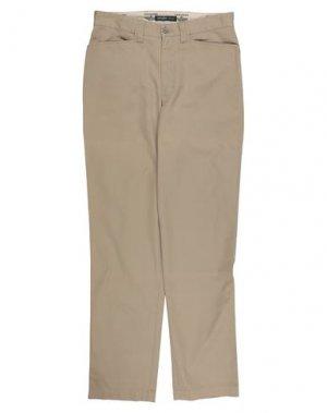 Повседневные брюки DOCKERS. Цвет: бежевый
