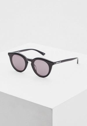 Очки солнцезащитные McQ Alexander McQueen MQ0167S001. Цвет: черный