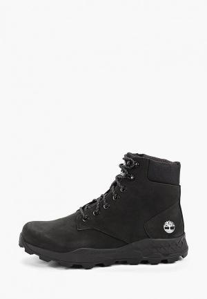 Ботинки Timberland Brooklyn 6 inch Boot BLACK. Цвет: черный