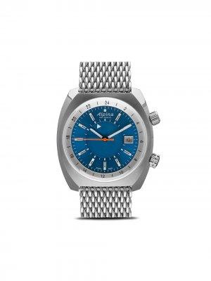 Наручные часы Startimer Pilot Heritage 38 мм Alpina. Цвет: blue-white