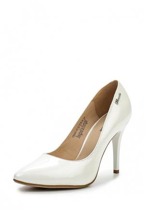 Туфли Clotilde. Цвет: белый