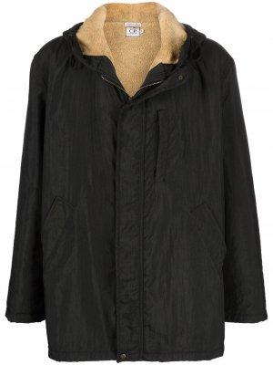Куртка 1990-х годов с капюшоном и махровой подкладкой C.P. Company Pre-Owned. Цвет: черный
