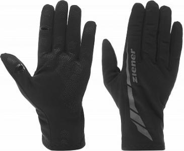 Перчатки , размер 9 Ziener. Цвет: черный