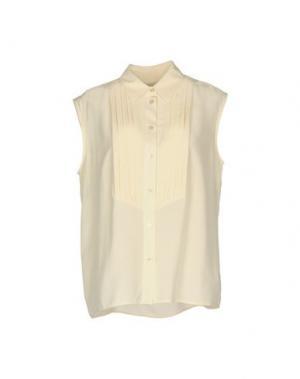 Pубашка EQUIPMENT. Цвет: слоновая кость