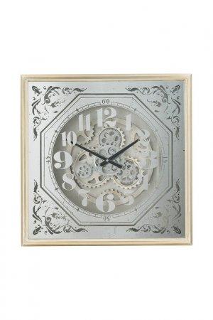 Часы 60x8x60 см ГЛАСАР. Цвет: серебряный
