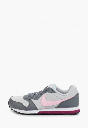 Кроссовки Nike GIRLS MD RUNNER 2 (GS) SHOE. Цвет: серый