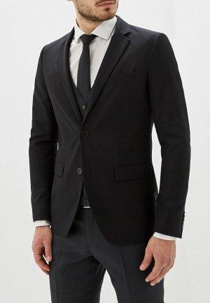 Пиджак Sisley. Цвет: черный