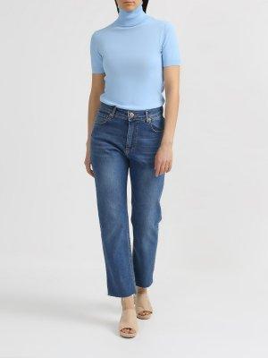 Прямые джинсы Rinascimento. Цвет: siniy