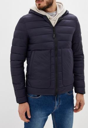Куртка утепленная Gaudi. Цвет: синий