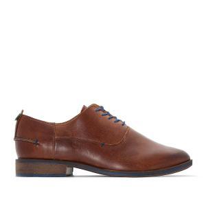 Ботинки-дерби кожаные DARUBB KICKERS. Цвет: темно-бежевый