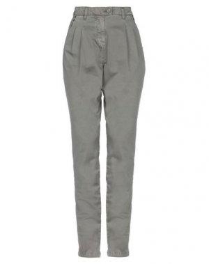 Повседневные брюки 2ND DAY. Цвет: зеленый-милитари