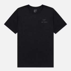 Мужская футболка Emblem SS Arcteryx. Цвет: чёрный