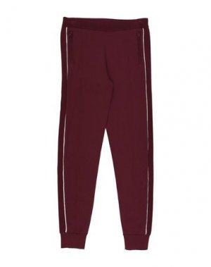 Повседневные брюки LITTLE REMIX. Цвет: красно-коричневый