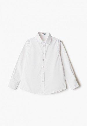 Рубашка Button Blue. Цвет: белый