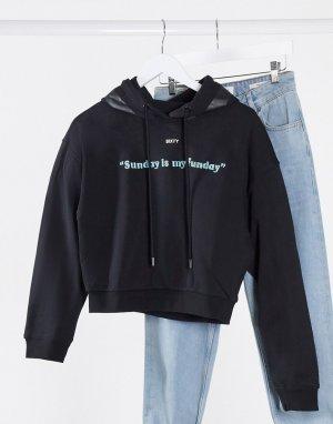 Пуловер -Черный Miss Sixty