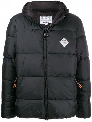 Куртка Beacon Ross Quilt Barbour. Цвет: черный